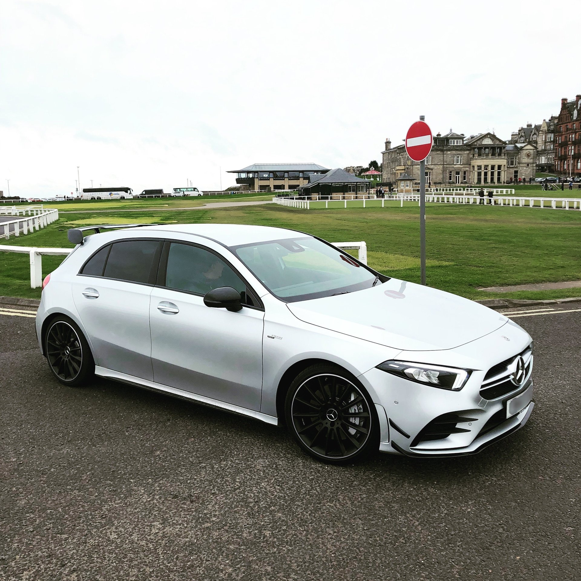 New A35amg Member