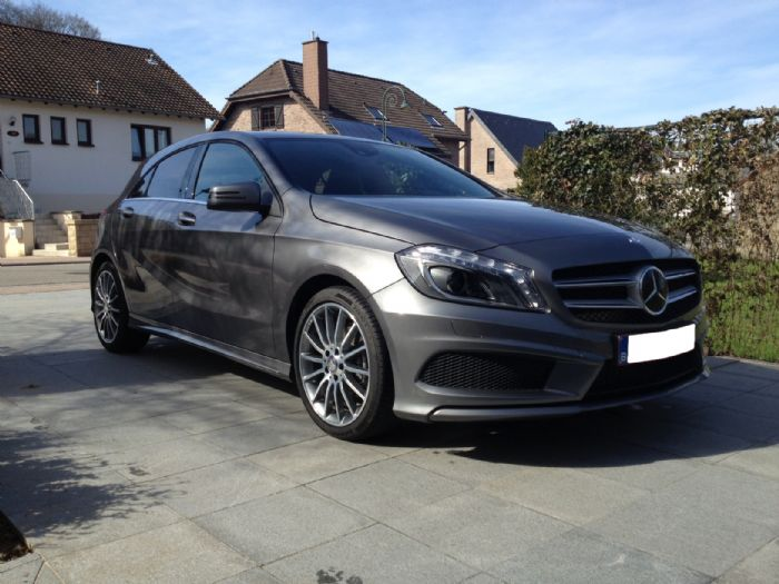 my new a 200 cdi amg mountain grey mercedes a class forum page 1. Black Bedroom Furniture Sets. Home Design Ideas