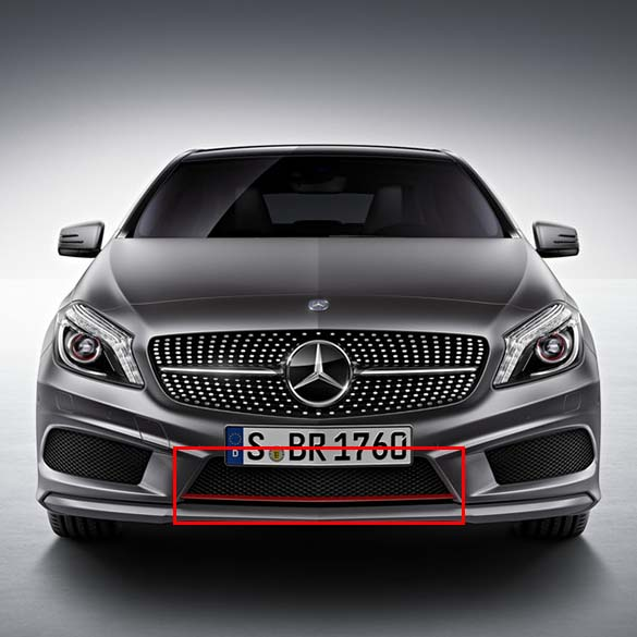 wanted a 250 sport amg front grill with red mercedes. Black Bedroom Furniture Sets. Home Design Ideas