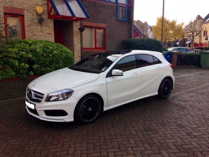 my a200 amg cdi delivered today mercedes a class forum. Black Bedroom Furniture Sets. Home Design Ideas