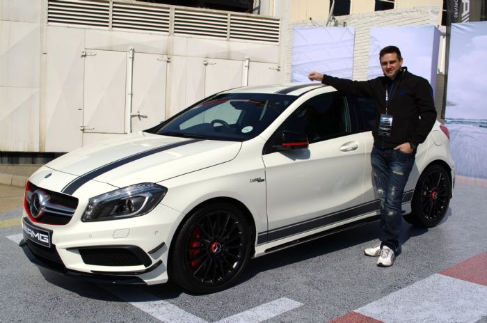 A45 AMG Edition1 at trackday - Mercedes A-Class Forum
