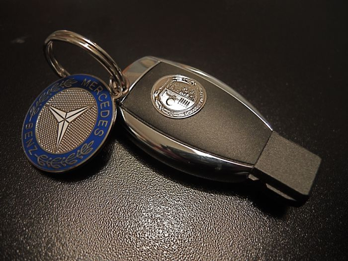 Amg affalterbach logo key cover mercedes a class forum for Key for mercedes benz cost